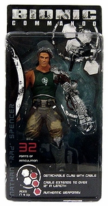 NECA Player Select 7 Inch Action Figure Nathan Spencer [Bionic Commando]