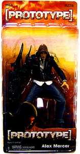 NECA Player Select 7 Inch Action Figure Prototype Alex Mercer Damaged Package!