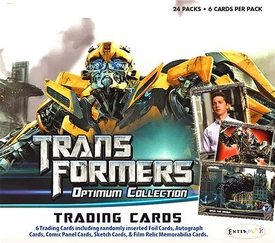 Enterplay Transformers Optimum Collection Trading Card Box [24 Packs]