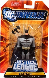 DC Universe Justice League Unlimited Fan Collection Action Figure Batman [Black & Grey with Batarang]