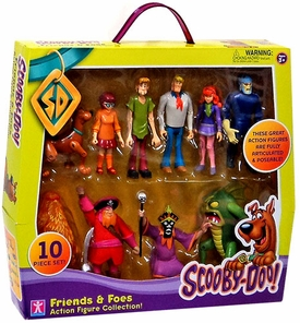 Scooby-Doo Action Figure Exclusive Friends & Foes 10-Pack