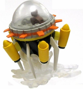 Dragon Ball Z Japanese Multi-Part 2.5 Inch PVC Capsule Corp. Time Machine