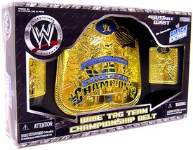 WWE Wrestling Jakks Pacific Kids Smackdown Tag Team Championship Belt [Boxed Edition]