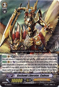 Cardfight Vanguard ENGLISH Single Card Promo PR/0060EN Goshawk Liberator, Cadeau