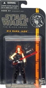 Star Wars Black 3.75 Inch 2013 Series 2 Action Figure Mara Jade Skywalker [EU]