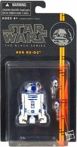 Star Wars Black 3.75 Inch 2013 Series 2 Action Figure R2 D2 [Episode II]