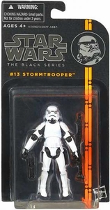 Star Wars Black 3.75 Inch 2013 Series 2 Action Figure Stormtrooper [Episode IV]