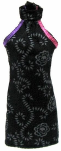 Monster High 10.5 Inch Scale LOOSE Doll Accessory Black Sleeveless Halter Top with Purple & Pink Trim
