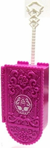 Monster High 10.5 Inch Scale LOOSE Doll Accessory Hot Pink Day of the Dead Suitcase