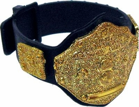 WWE Wrestling Loose Action Figure Accessory 6 Inch Gold Chrome Heavyweight Championship Belt