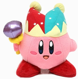 Kirby Adventure 6 Inch Plush Mirror