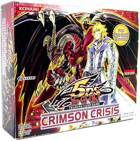 YuGiOh 5D's Crimson Crisis Booster Box [24 Packs]