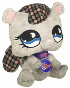 Littlest Pet Shop VIP Virtual Interactive Pet Plush Figure Squirrel
