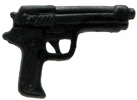 GI Joe 3 3/4 Inch LOOSE Action Figure Accessory Black Beretta