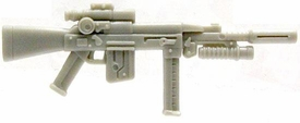 GI Joe 3 3/4 Inch LOOSE Action Figure Accessory Gray Viper's Assault Rifle