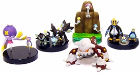 Pokemon DP Japanese Set of 5 Micro Evolution PVC Figures