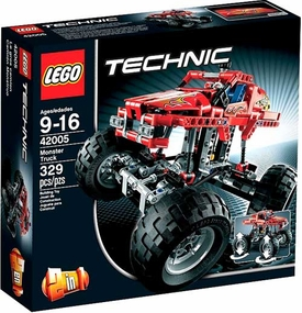 LEGO Technic Set #42005 Monster Truck