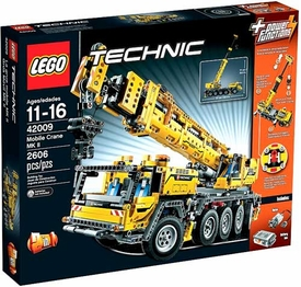 LEGO Technic Set #42009 Mobile Crane MK II