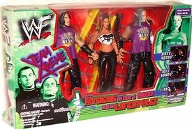 WWF Wrestling Action Figure 3-Pack Team Xtreme [Lita, Matt & Jeff Hardy]