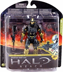 Halo Reach McFarlane Toys Series 4 Exclusive Action Figure STEEL / PALE Spartan ODST {Male}