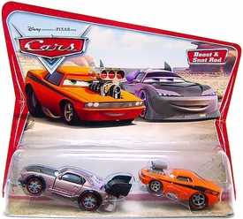 Disney / Pixar CARS Movie Moments 1:55 Die Cast Figure 2-Pack Series 1 Original Boost & Snot Rod