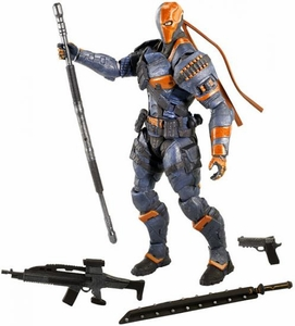 Mattel Batman Arkham Origins Action Figure Deathstroke