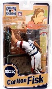 McFarlane Toys MLB Cooperstown Series 8 Action Figure Carlton Fisk (Chicago White Sox)