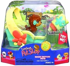Littlest Pet Shop Magic Motion Pets Feed Me Yum Yum Puppy