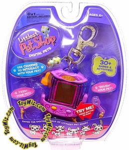 Littlest Pet Shop Virtual Electronic Digital Pet Toy (Similar to Tamagotchi) Bird