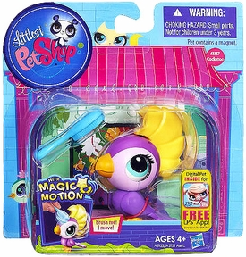 Littlest Pet Shop Magic Motion Pets Cockatoo