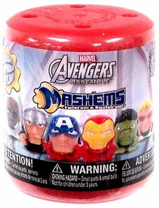 Marvel Mash'ems Avengers Assemble Squishy Mini Figure Pack [1 Random Figure]