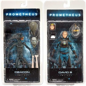 NECA Prometheus Series 2 Set of Both Action Figures [David & Deacon]