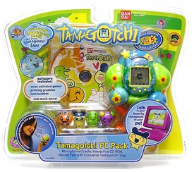 Tamagotchi Connection 'V4.5' Version 4.5 Virtual Pet Toy PC Pack Kit with Exclusive Globe Design Tamagotchi