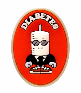 NEW! Diabetes Health Alert Charm