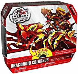 Bakugan Ultimate Weapon Deluxe Figure Dragonoid Colossus