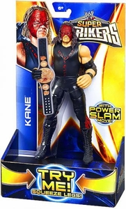 Mattel WWE Wrestling Super Strikers Action Figure Kane [Title Belt is Cardboard, Not Plastic!]