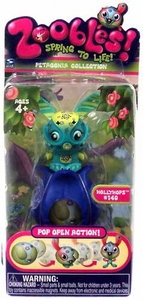 Zoobles Toy Petagonia Animal Mini Figure #140 Hollyhops