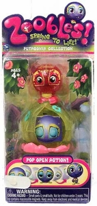 Zoobles Toy Petagonia Animal Mini Figure #016 Pickle