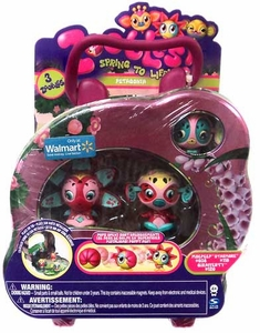 Zoobles Toy Petagonia Exclusive Tin 3-Pack [#036 Moepeep, #119 Starmore & #129 Girafferty]