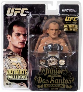 Round 5 UFC Ultimate Collector Series 12 CHAMPIONSHIP EDITION Action Figure Junior Dos Santos with Belt!
