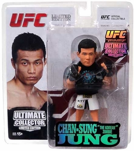 Round 5 UFC Ultimate Collector Series 12 LIMITED EDITION Action Figure Chan Sung Jung [Korean Zombie] Only 750 Made!