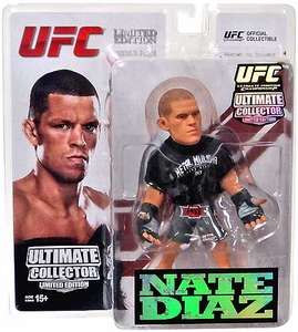 Round 5 UFC Ultimate Collector Series 12 LIMITED EDITION Action Figure Nate Diaz Only 750 Made!