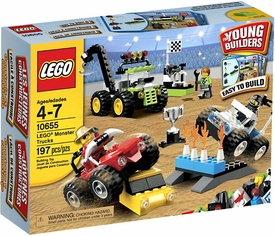 LEGO Young Builders Set #10655 Monster Trucks