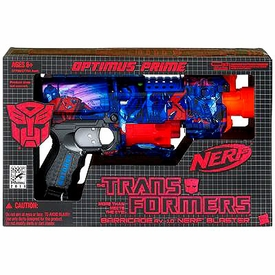 Transformers Universe SDCC 2011 San Diego Comic-Con Exclusive Nerf Optimus Prime Blaster
