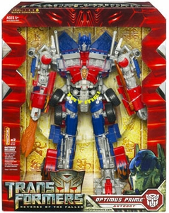 Transformers 2: Revenge of the Fallen Leader Action Figure Optimus Prime