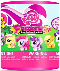My Little Pony Fash'ems Squishy Mini Figure Pack [1 Random Figure] Hot!