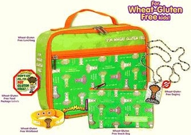 The Wheat-Gluten Free Survial Kit For Kids: Includes WG Free lunch bag, WG free snack bag, WG Free Wrisband, WG Free Dog Tag, WG Free Food Warning Label BLOWOUT SALE!