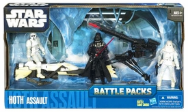 Star Wars 2010 Clone Wars Animated Battle Pack Hoth Assault