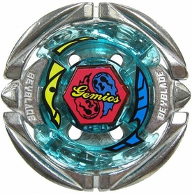 Beyblades Metal Fusion CUSTOM Battle Top LOOSE Flame Gemios 105CS