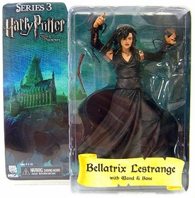 Harry Potter and the Order of the Phoenix NECA 7 Inch Series 3 Action Figure Bellatrix Lastrange [Wand & Base]